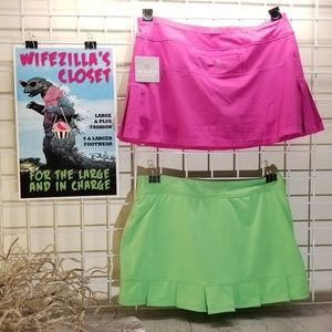 Athleta Shorts - BOGO! Athleta Warrior Skort & Calvin Klein Skort